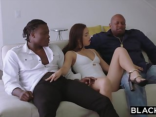 BLACKED 2 Teenagers Get Creampied By Monster Ebony Prick
