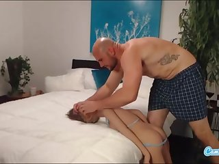 jmac gets deep throat ass shacking up added to doggie-style from real gal before spunking in her bootie