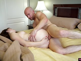 Tiptop orgasms she had in a while mesh gender with front daddy